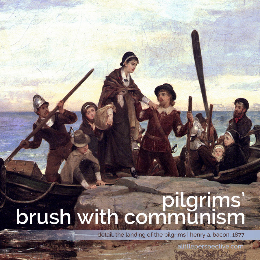 pilgrims' brush with communism