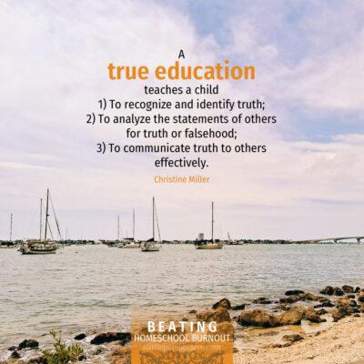 Beating homeschool burnout, part three