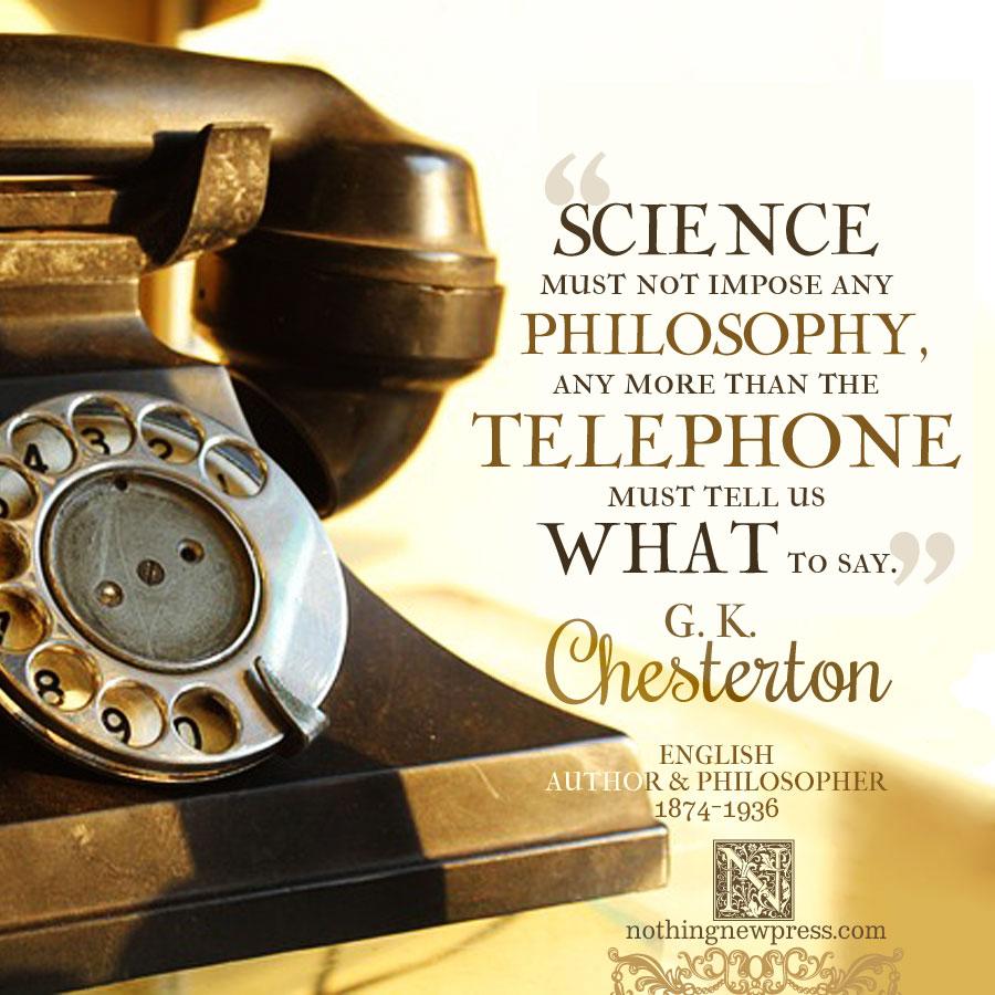 G. K. Chesterton | alittleperspective.com