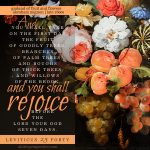 Lev 23:40 | scripture pictures at alittleperspective.com