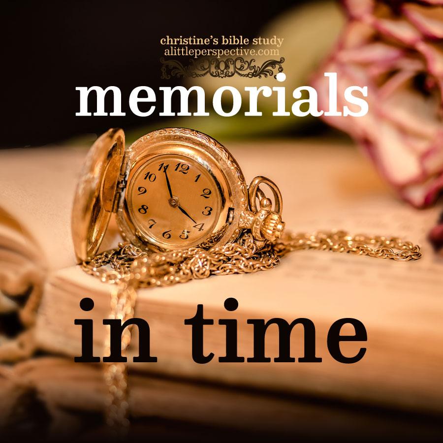 memorials in time | alittleperspective.com