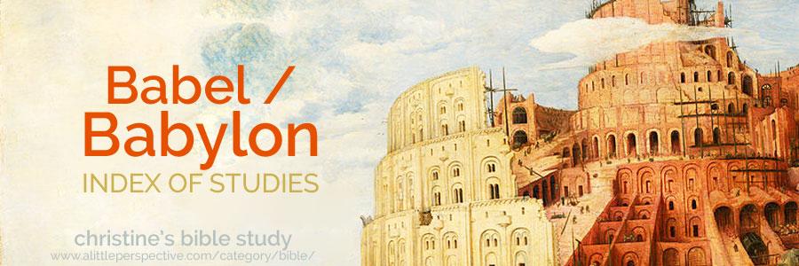 babel / babylon index of studies