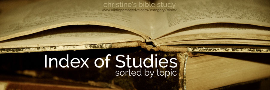 studies by topic index