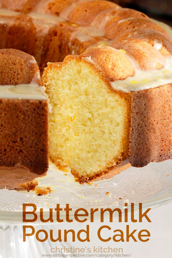 Butter Milk Sour Cream Pound Cake