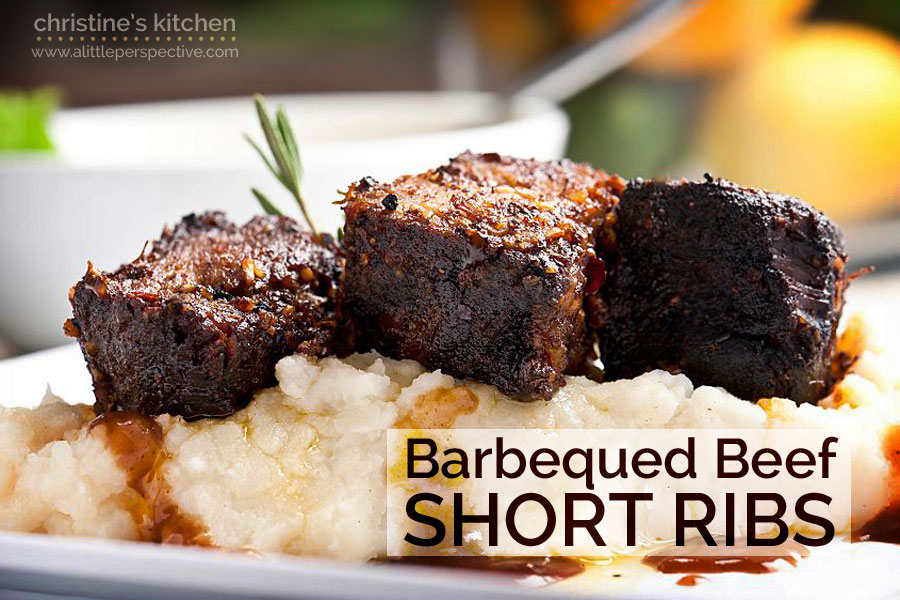 aunt kellie's barbequed beef short ribs