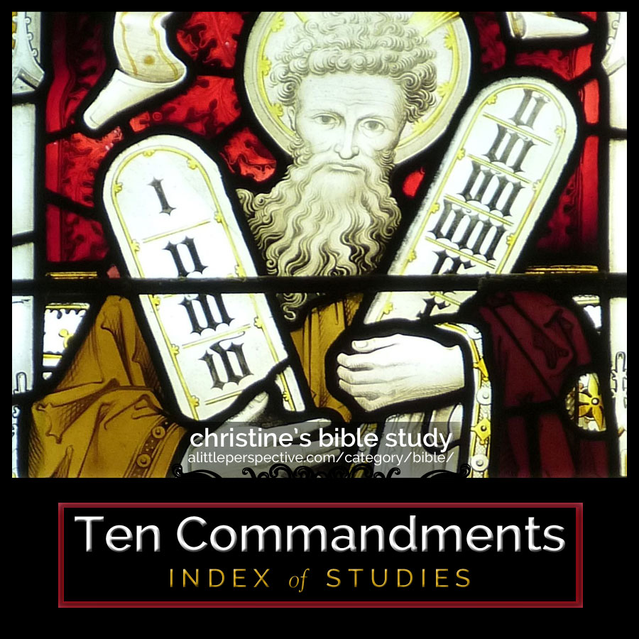 ten commandments index