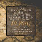 Oba 1:15 | scripture pictures at alittleperspective.com