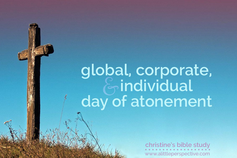global, corporate, and individual day of atonement