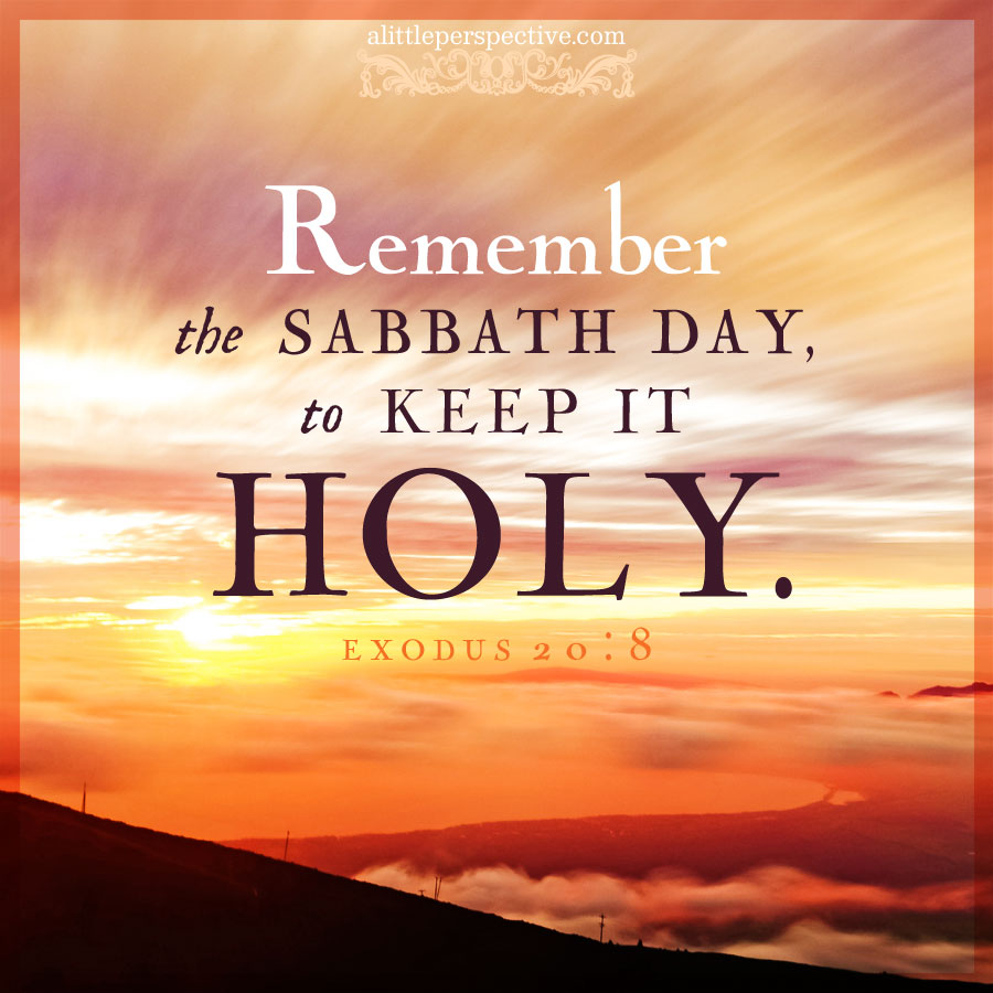 honor the sabbath day