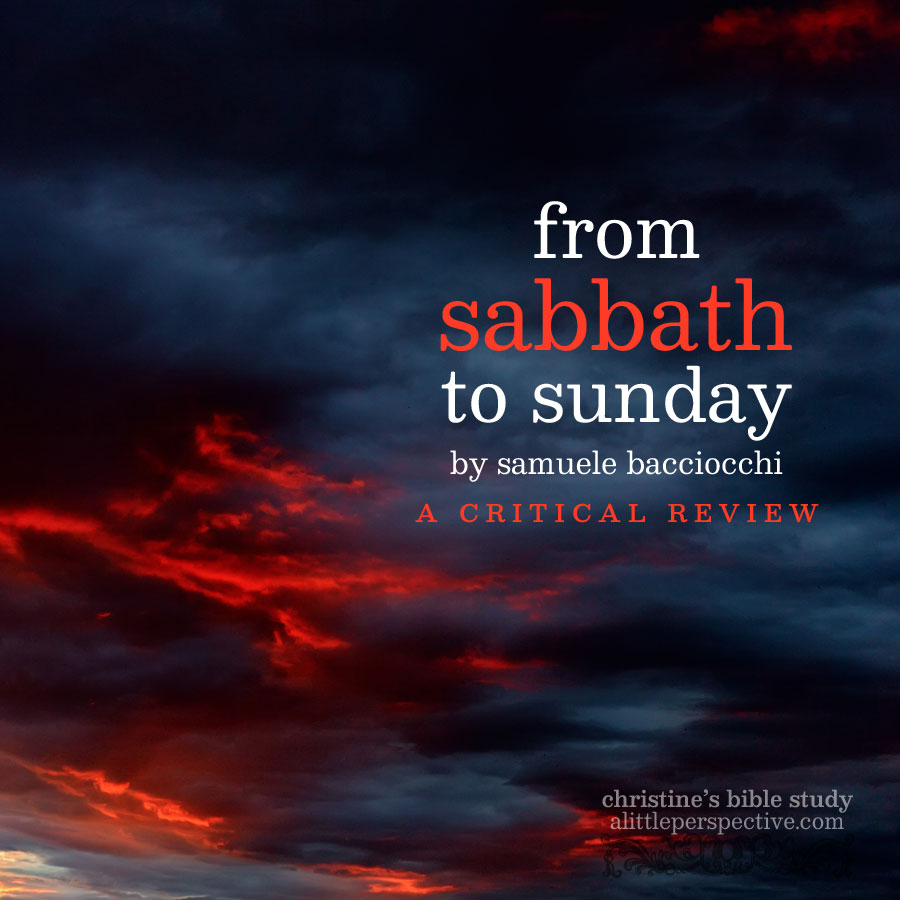 from sabbath to sunday by samuele bacciocchi | alittleperspective.com