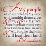 2 Chr 7:14 | scripture pictures @ alittleperspective.com