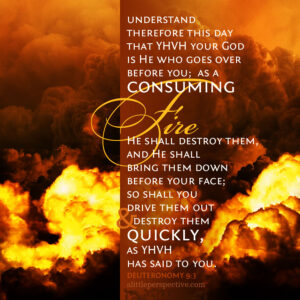 Deu 9:3 | scripture pictures at alittleperspective.com
