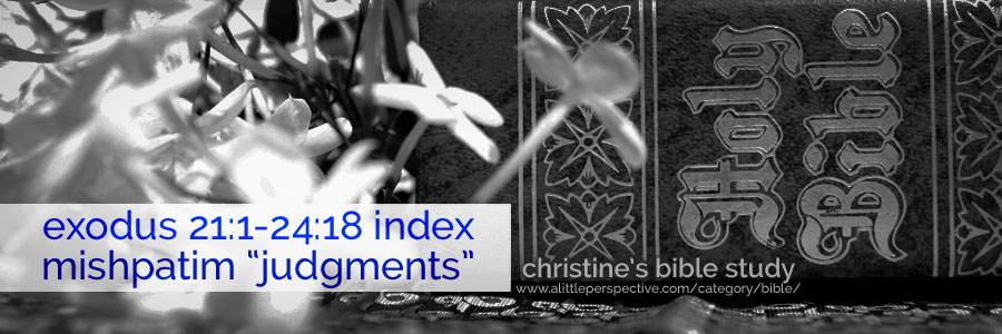 """exodus 21:1-24:18 index mishpatim """"judgments"""" 