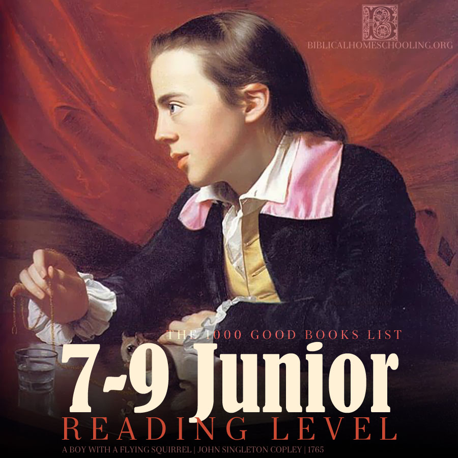 7-9 junior reading level | 1000 good books