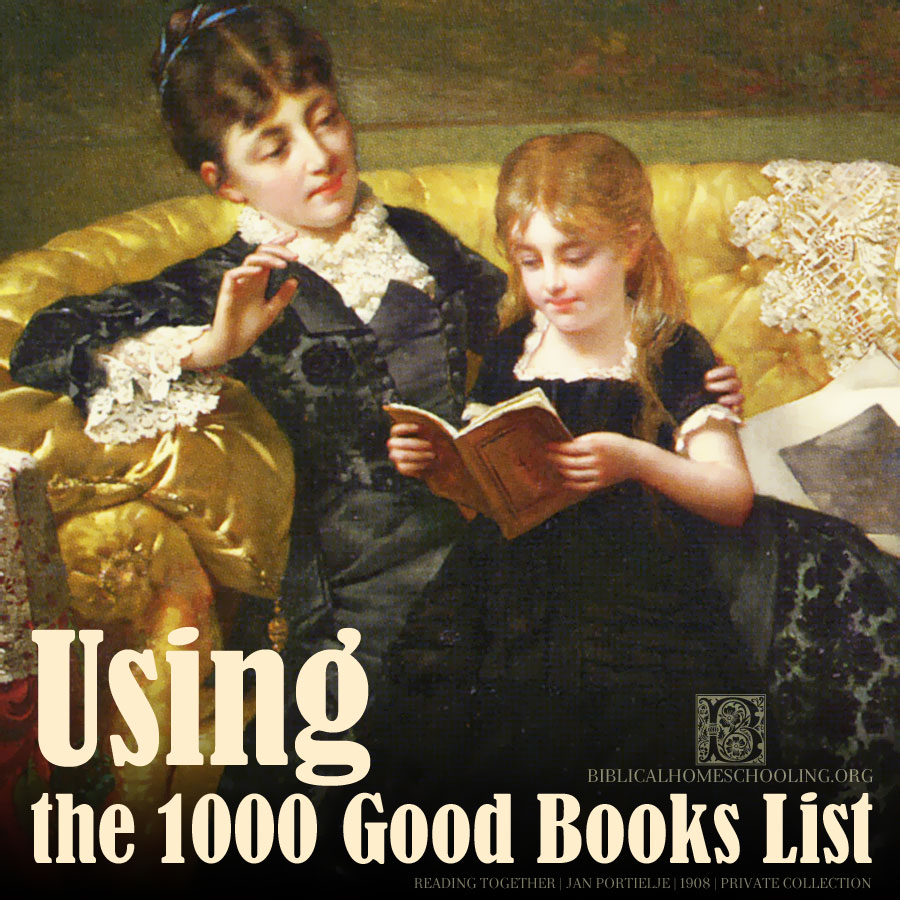 using the 1000 good books list