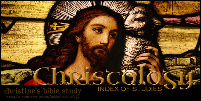 christology index of studies