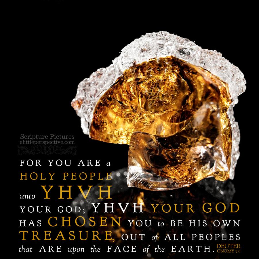 Deu 7:6 | Scripture Pictures @ alittleperspective.com