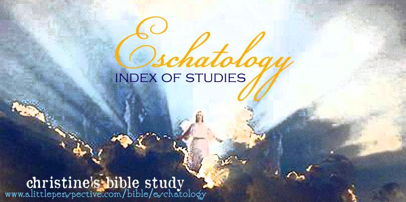 eschatology index of studies