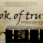 book of truth index