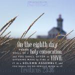 Lev 23:36 | scripture pictures at alittleperspective.com