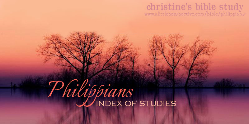 Philippians index of studies