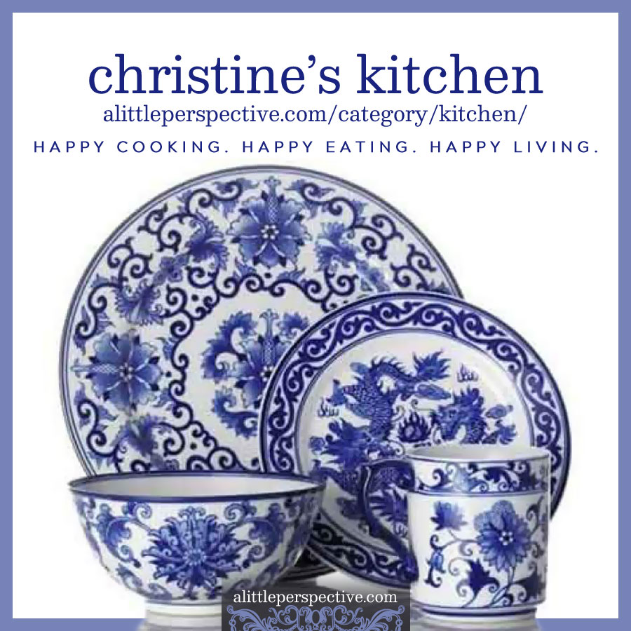 Christine's Kitchen | alittleperspective.com