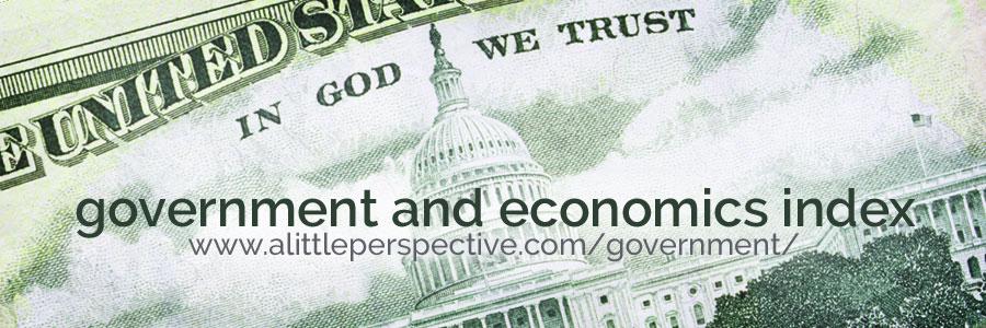 government and economics index