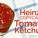 tomato ketchup (heinz copycat)