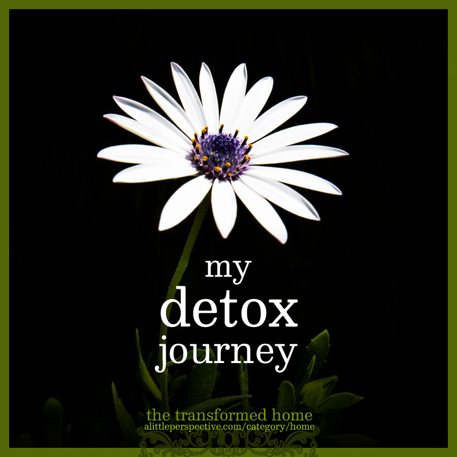 my detox journey | the transformed home @ alittleperspective.com