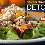 seven days of detox lunch ideas