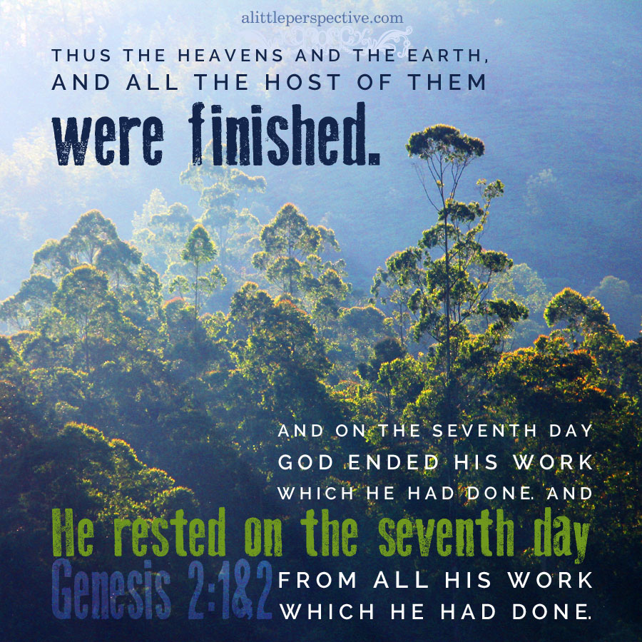 the seventh day of rest