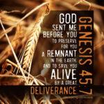 Gen 45:7 | scripture pictures at alittleperspective.com