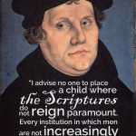 martin luther on schooling