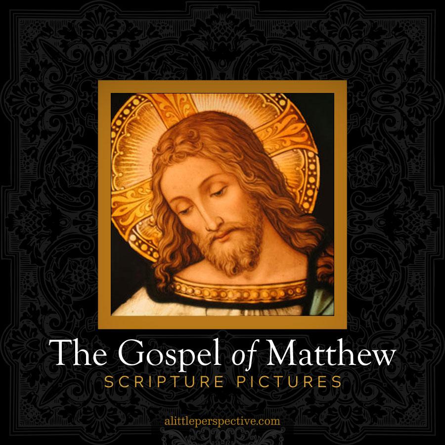 matthew scripture pictures | alittleperspective.com