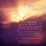 Psa 9:7 | Scripture Pictures @ alittleperspective.com