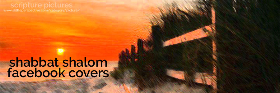 shabbat shalom facebook covers