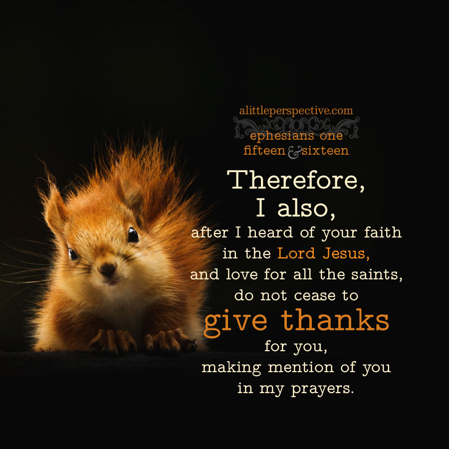 Eph 1:15   scripture pictures at alittleperspective.com