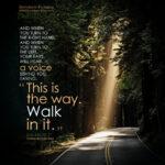 Isa 30:21 | Scripture Pictures @ alittleperspective.com