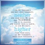 Isa 55:8 | Scripture Pictures @ alittleperspective.com