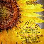 Jer 33:6 scripture pictures at alittleperspectve.com
