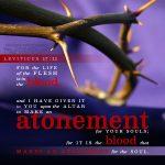 Lev 17:11 | scripture pictures at alittleperspective.com