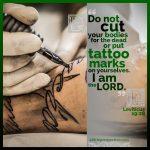 Lev 19:28 | scripture pictures at alittleperspective.com