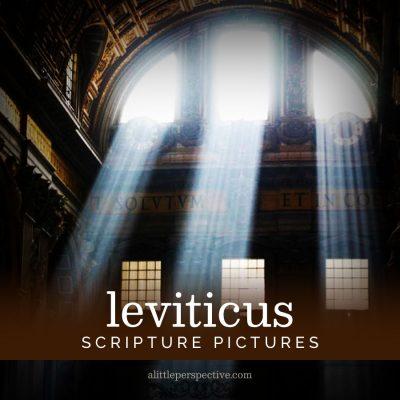 leviticus scripture pictures
