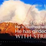Psa 93:1 facebook cover