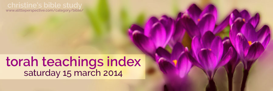 torah teachings index for saturday 15 march 2014