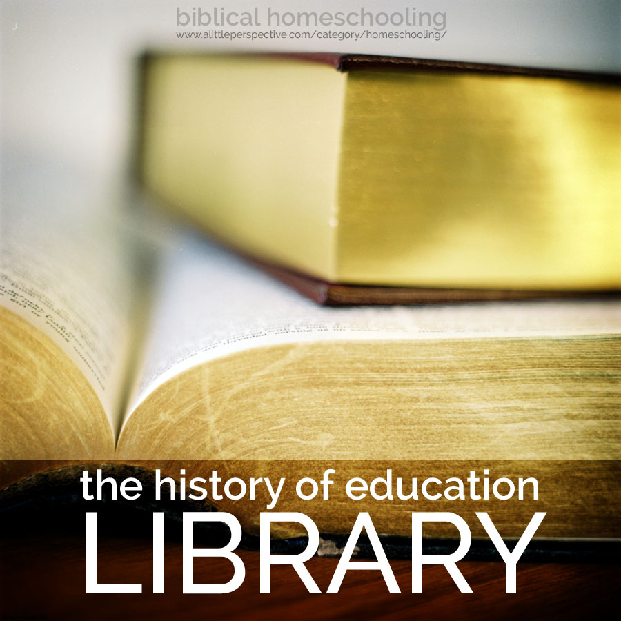 the history of education library