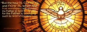Joh 4:23 feast of shavuot
