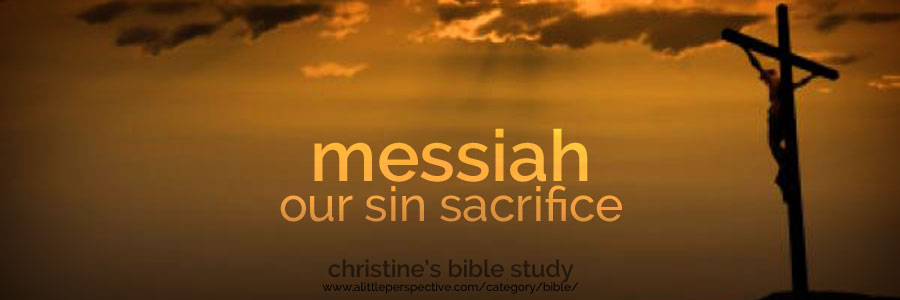 messiah, our sin sacrifice (chattath) | christine's bible study at a little perspective
