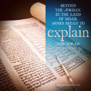 Deu 1:5 | Scripture Pictures @ alittleperspective.com