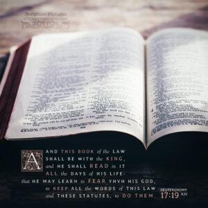 Deu 17:19 | Scripture Pictures @ alittleperspective.com
